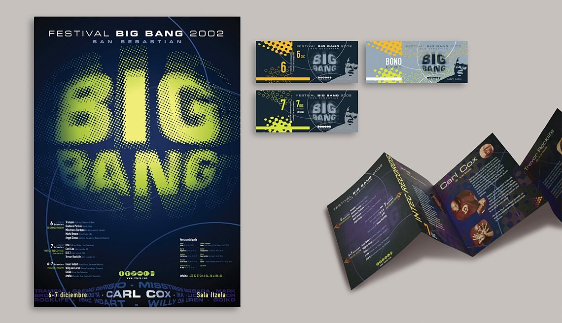 Logo Big Bang in use