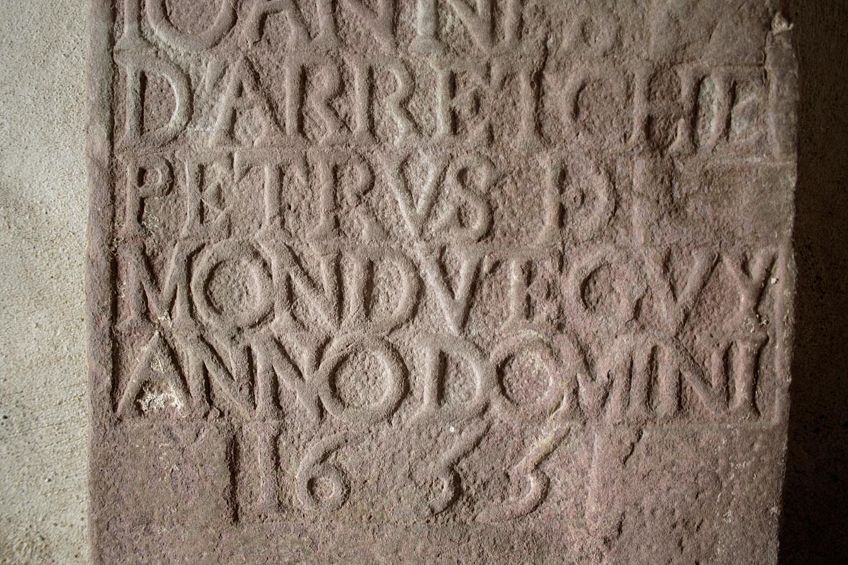 Inscription found in Ezpeleta